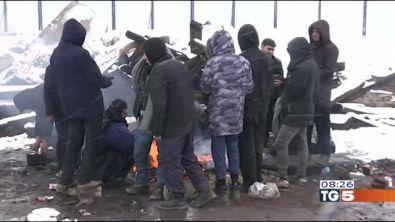 Il dramma dei migranti a Belgrado