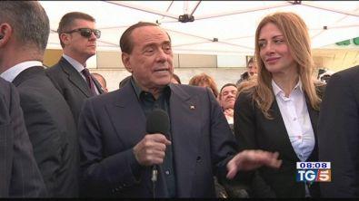 """Berlusconi: """"Mi candido, stop a questo governo"""""""