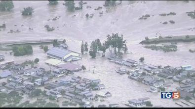 Tifone Hagibis: vittime e dispersi in Giappone