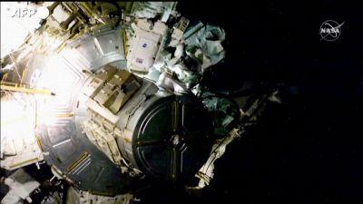 Seconda passeggiata spaziale per gli astronauti Thomas Pesquet e Shane Kimbrough