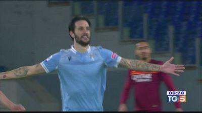 Derby biancoceleste Lazio-Roma 3-0
