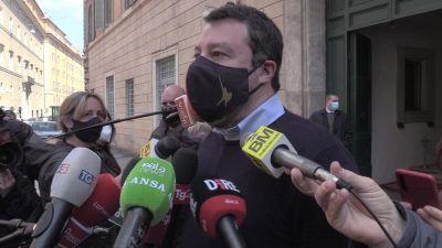 """Superlega, Salvini: """"Calcio non e' solo business, va riformato con tetto salariale calciatori"""""""
