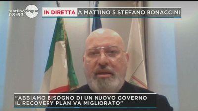 Stefano Bonaccini a Mattino 5