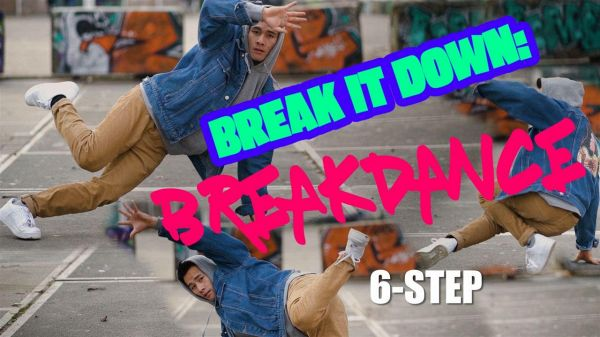 Breakdance per principianti: il 6 step