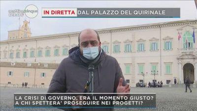 Crisi: la parola a Mattarella