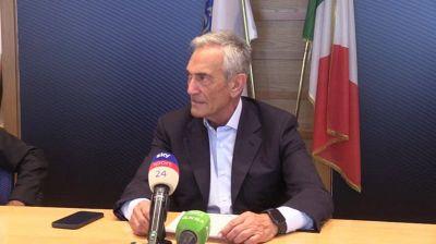 """Calcio, Gravina: """"Riapertura stadi al 50% insoddisfacente e inapplicabile"""""""