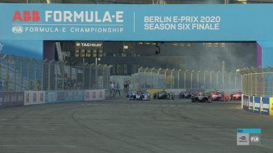 La partenza della gara-3 di Berlino
