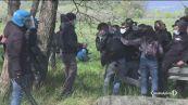 No Tav, scontri e feriti