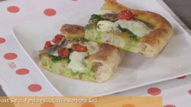 Pizza di ricette all'italiana