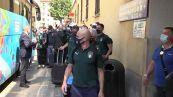 Europei, la nazionale di Mancini parte da Firenze in treno alla volta di Roma