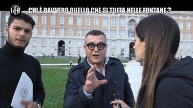 """MARTINELLI: Si tuffa nella fontana della Reggia di Caserta: """"Ora datemi una medaglia"""""""
