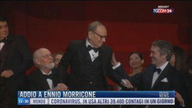 Breaking News delle 12.00 | Addio a Ennio Morricone