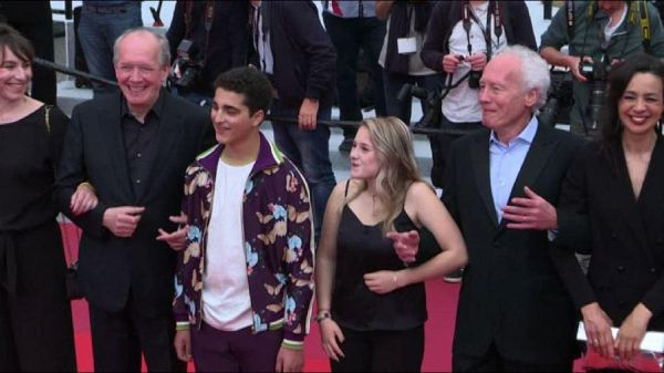 A Cannes i fratelli Dardenne sul red carpet per 'Le Jeune Ahmed'