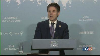 G7, Conte soddisfatto vertice a Palazzo Chigi