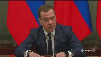 Il governo russo si dimette