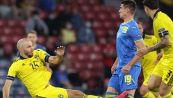 L'entrata impressionante di Danielson su Besedin durante Svezia-Ucraina