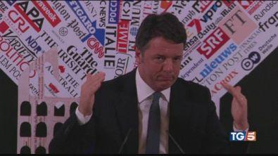 I sassolini di Renzi