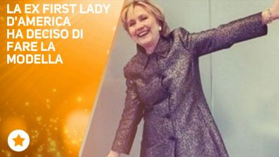 Hillary Clinton top model? Sì, ma solo per Katy Perry