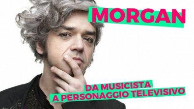 Morgan, da musicista a personaggio televisivo