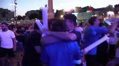 Euro2020, Italia in semifinale: esplode di gioia piazza del Popolo