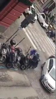 Furto Scooter a Napoli in 30 secondi