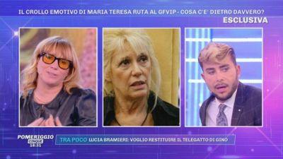 Il crollo emotivo di Maria Teresa Ruta al GFVIP - Cosa c'è dietro davvero?