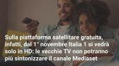 Italia 1 e Canale 5 solo in HD
