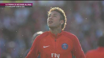 Psg: Neymar subito in gol