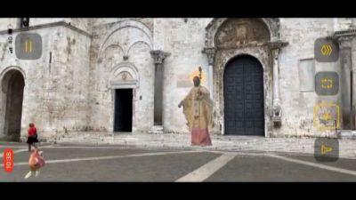 Il primo Santo patrono in realtà aumentata è S. Nicola