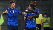 Qualificazioni Qatar 2022 Italia-Lituania 5-0