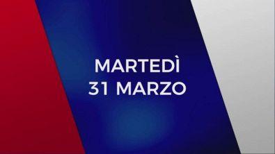 Stasera in Tv sulle reti Mediaset, 31 marzo