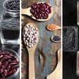 Legumi, cereali, frutta secca
