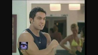 Il sogno da attore di Pietro Taricone al Grande Fratello 2000