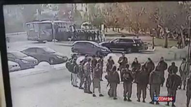 Le immagini dell'attentato a Gerusalemme