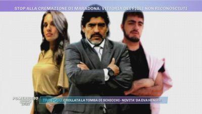 Stop alla cremazione di Diego Armando Maradona - Tutte le novità