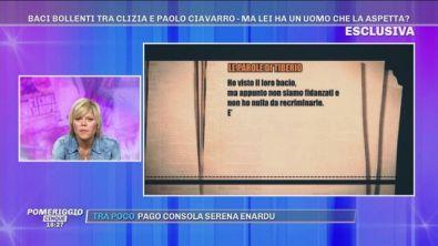 GFVIP: Clizia Incorvaia, Paolo Ciavarro e... un uomo misterioso