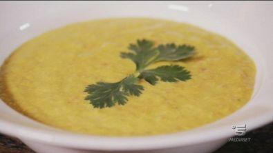Una gustosa zuppa di lenticchie