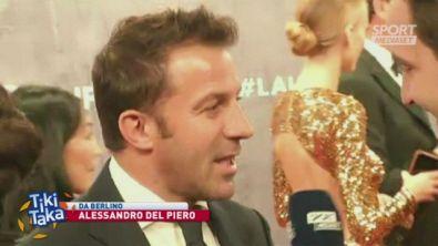 """Del Piero: """"Sarri? Alla Juve hai meno tempo per insegnare calcio"""""""