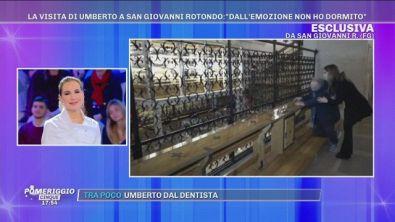 La visita di Umberto a San Giovanni Rotondo