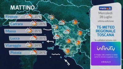 Tg Meteo Regionale Toscana