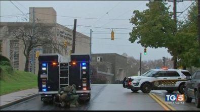 E' strage in sinagoga 8 morti a Pittsburgh