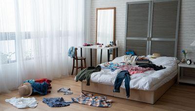 3 cose della camera da letto che potrebbero stressarti: evitale