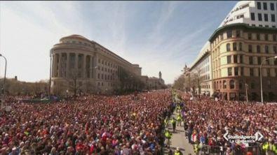 Grande manifestazione a Washington