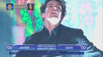 """Javier balla sulle note di """"Penso positivo"""" - La finalissima"""
