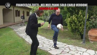 """""""Per fare Totti ci vuole Verdone"""", Parola di Francesco."""