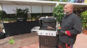 L'area barbecue