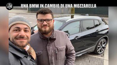 DI SARNO: La truffa della Bmw: un'auto in vendita barattata con una mozzarella