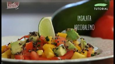 Cucina Tutorial: insalata arcobaleno
