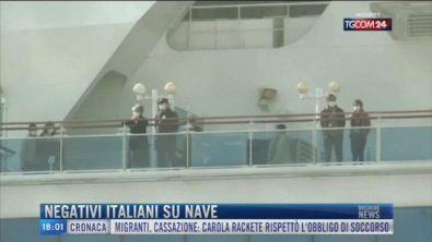 Breaking News delle 18.00 | Negativi italiani su nave