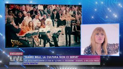 Vittorio Sgarbi e Alessandra Mussolini: uno storico litigio